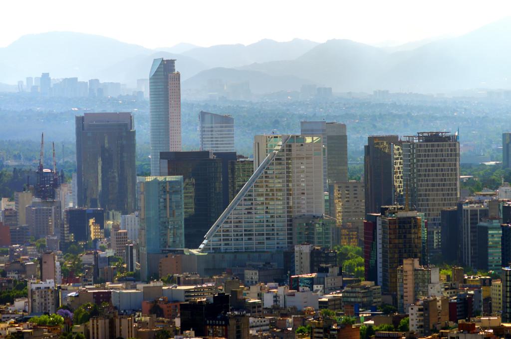 Ciudad.Mexico.City.Distrito.Federal.DF.Reforma.Skyline