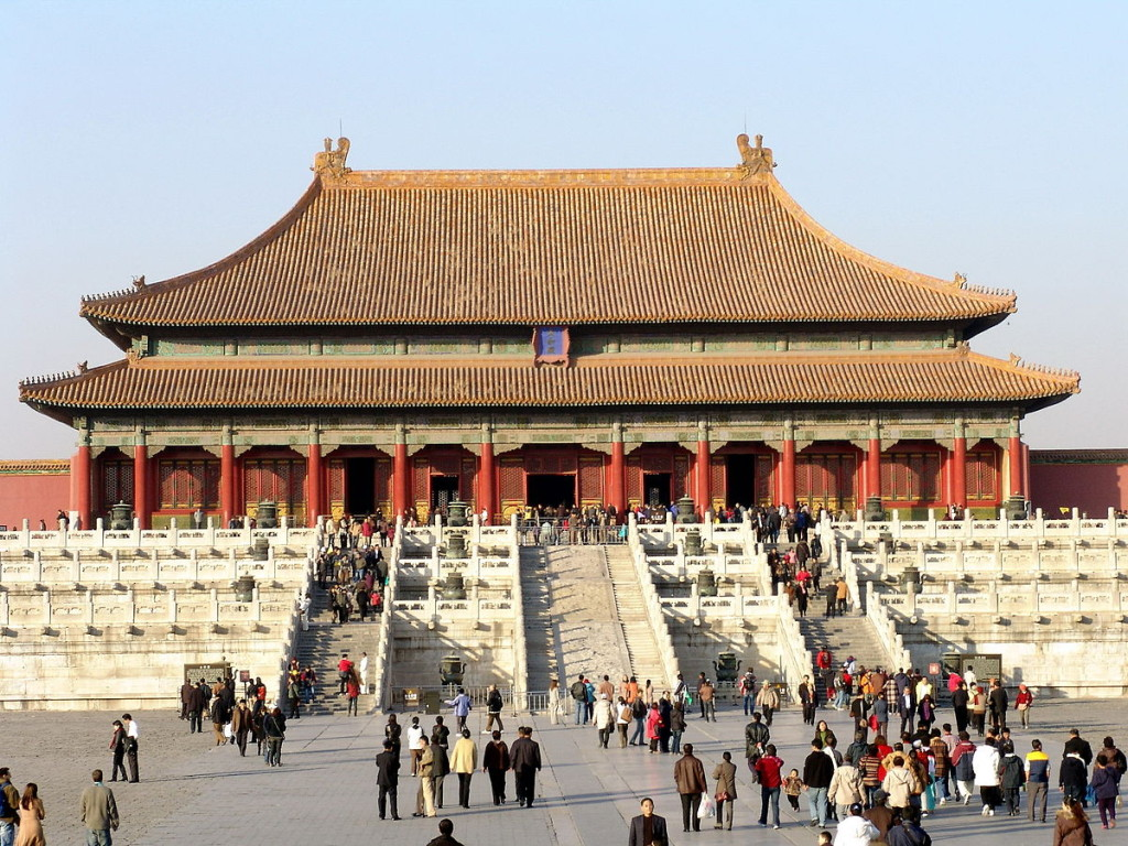 The Forbidden City is one of the top attractions in China ... Photo by CC user 17155762@N00 on Flickr