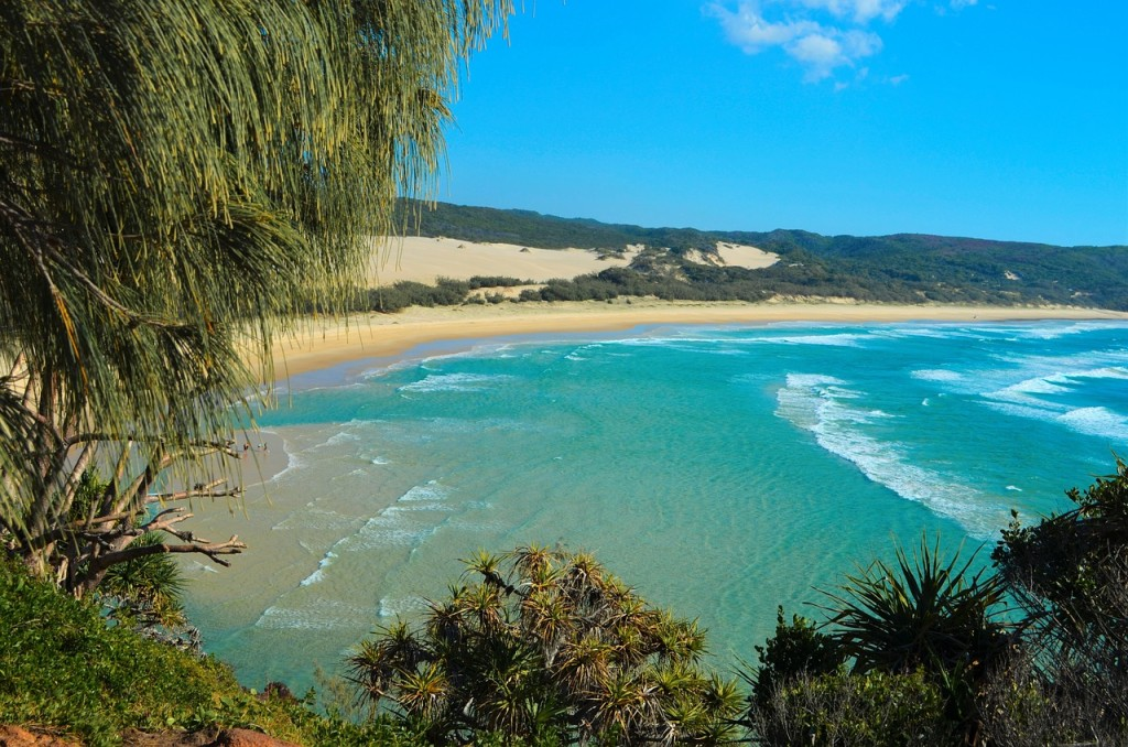 Fraser Island in Australia is definitely part of what would considered Scenic Oceania